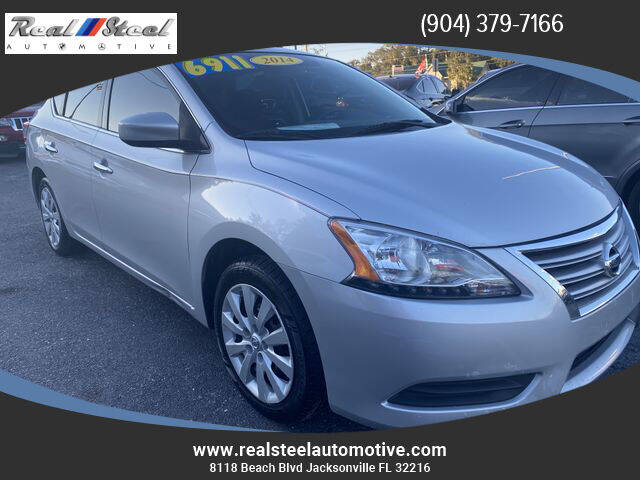 2014 Nissan Sentra for sale at Real Steel Automotive in Jacksonville FL