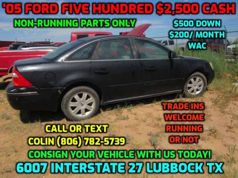 2005 Ford Five Hundred for sale at West Texas Consignment in Lubbock TX