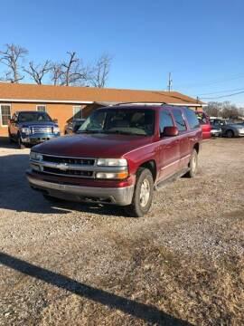 2002 Chevrolet Suburban for sale at Marti Motors Inc in Madison IL