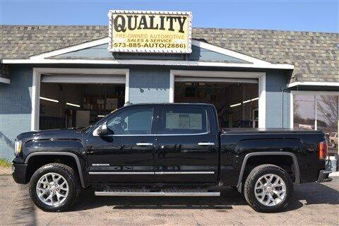 2018 GMC Sierra 1500 for sale at Quality Pre-Owned Automotive in Cuba MO