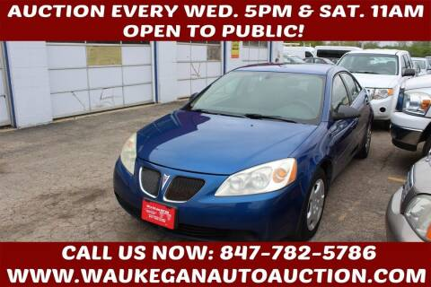 2007 Pontiac G6 for sale at Waukegan Auto Auction in Waukegan IL