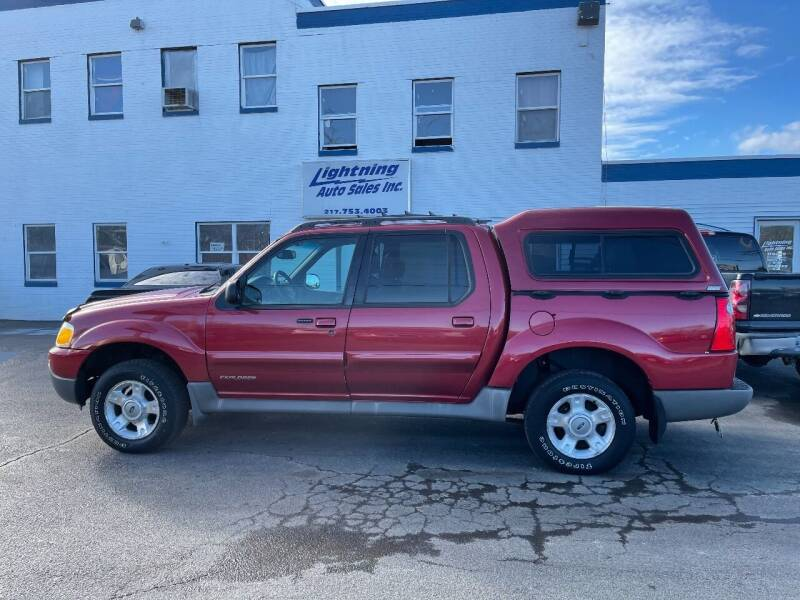 2002 Ford Explorer Sport Trac for sale at Lightning Auto Sales in Springfield IL