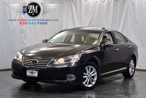 2010 Lexus ES 350 for sale at ZONE MOTORS in Addison IL