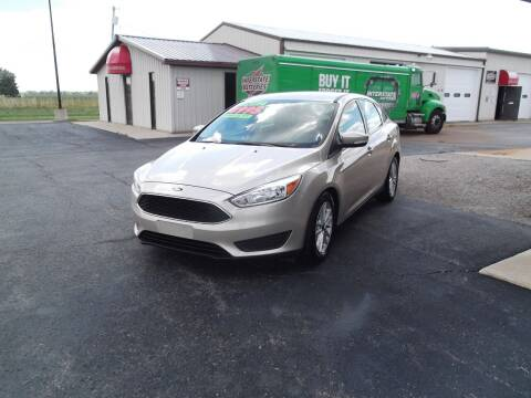 2017 Ford Focus for sale at Dietsch Sales & Svc Inc in Edgerton OH