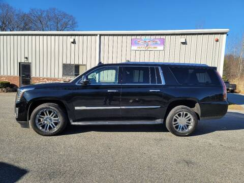 2018 Cadillac Escalade ESV for sale at GRS Auto Sales and GRS Recovery in Hampstead NH