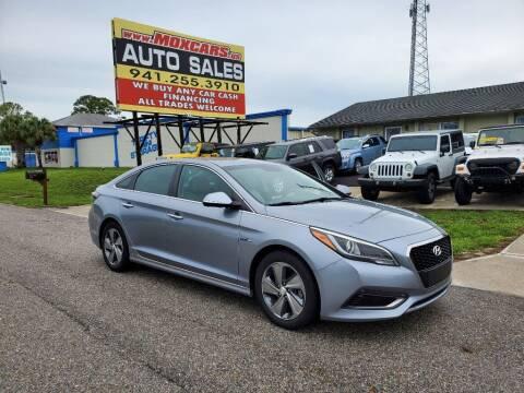 2016 Hyundai Sonata Hybrid for sale at Mox Motors in Port Charlotte FL