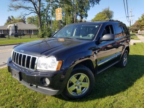 2005 Jeep Grand Cherokee for sale at RBM AUTO BROKERS in Alsip IL