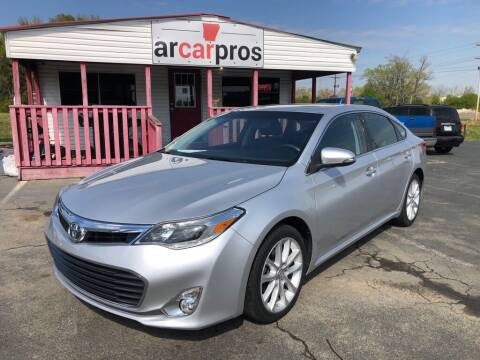 2013 Toyota Avalon for sale at Arkansas Car Pros in Cabot AR