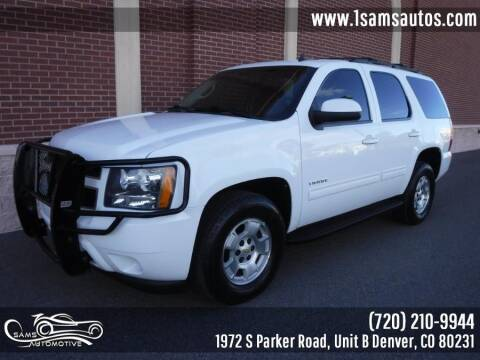 2012 Chevrolet Tahoe for sale at SAM'S AUTOMOTIVE in Denver CO