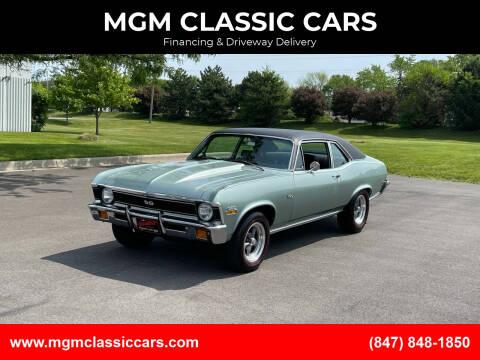 1971 Chevrolet Nova for sale at MGM CLASSIC CARS in Addison IL