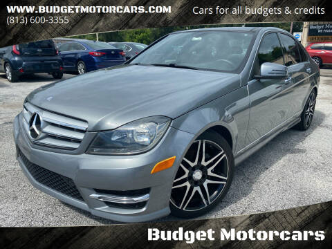 2013 Mercedes-Benz C-Class for sale at Budget Motorcars in Tampa FL