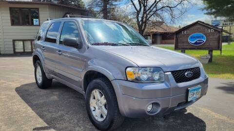 2007 Ford Escape for sale at Shores Auto in Lakeland Shores MN