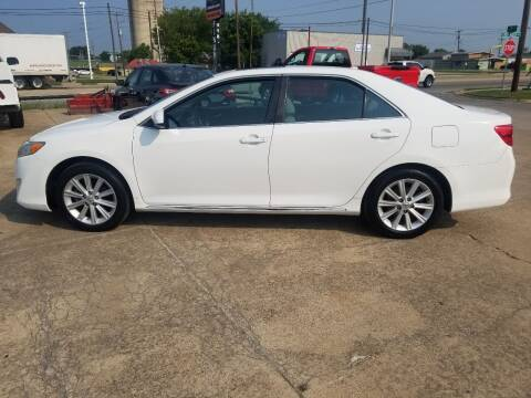 2014 Toyota Camry for sale at C4 AUTO GROUP in Claremore OK