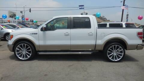 2011 Ford F-150 for sale at Luxor Motors Inc in Pacoima CA