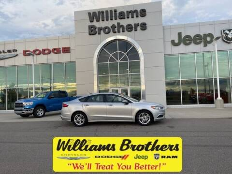 2018 Ford Fusion for sale at Williams Brothers - Pre-Owned Monroe in Monroe MI