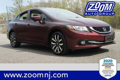 2014 Honda Civic for sale at Zoom Auto Group in Parsippany NJ