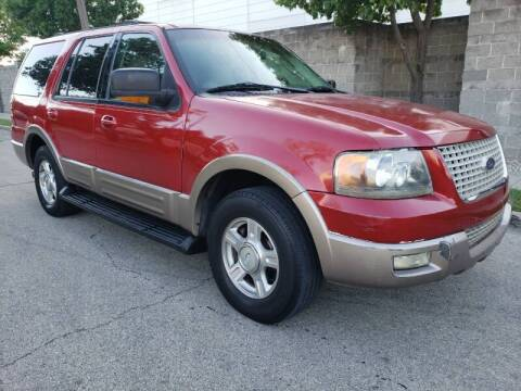2003 Ford Expedition for sale at ZNM Motors in Irving TX