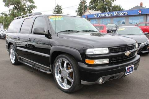 2004 Chevrolet Suburban for sale at All American Motors in Tacoma WA