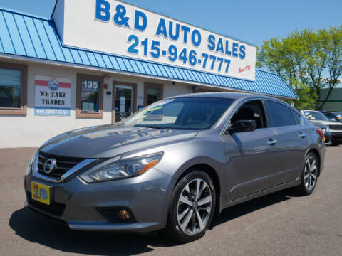 2016 Nissan Altima for sale at B & D Auto Sales Inc. in Fairless Hills PA