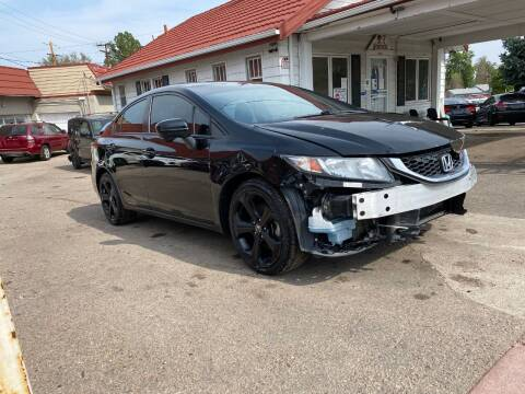 2015 Honda Civic for sale at STS Automotive in Denver CO