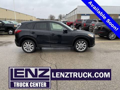 2015 Mazda CX-5 for sale at LENZ TRUCK CENTER in Fond Du Lac WI