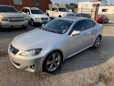 2012 Lexus IS 250 for sale at A & R Motors in Richmond VA