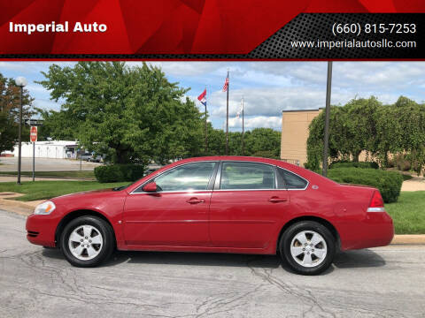 2007 Chevrolet Impala for sale at Imperial Auto, LLC in Marshall MO