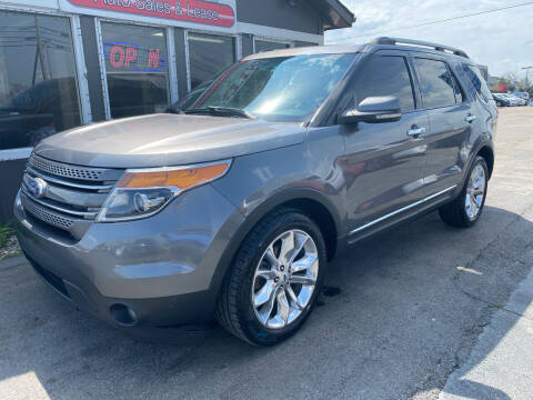 2012 Ford Explorer for sale at Martins Auto Sales in Shelbyville KY