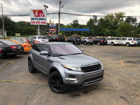 2012 Land Rover Range Rover Evoque for sale at KB Auto Mall LLC in Akron OH