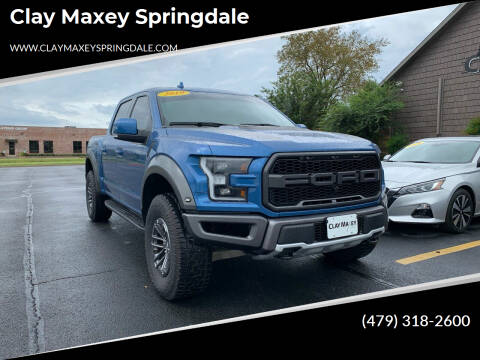 2019 Ford F-150 for sale at Clay Maxey Springdale in Springdale AR