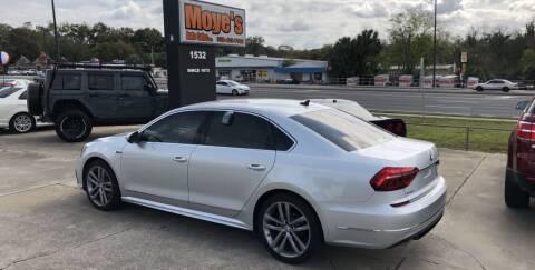 2017 Volkswagen Passat for sale at Moye's Auto Sales Inc. in Leesburg FL
