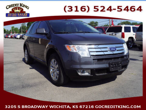 2007 Ford Edge for sale at Credit King Auto Sales in Wichita KS