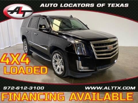 2016 Cadillac Escalade for sale at AUTO LOCATORS OF TEXAS in Plano TX