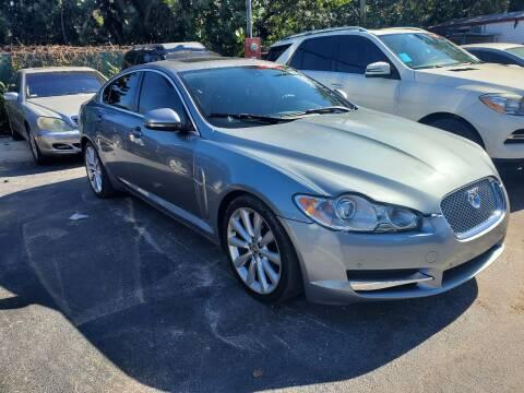 2011 Jaguar XF for sale at America Auto Wholesale Inc in Miami FL