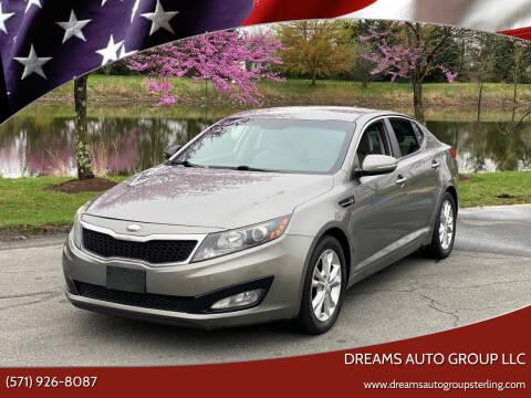 2013 Kia Optima for sale at Dreams Auto Group LLC in Sterling VA