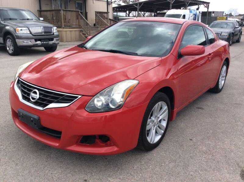 2011 Nissan Altima for sale at OASIS PARK & SELL in Spring TX