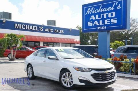 2020 Chevrolet Malibu for sale at Michael's Auto Sales Corp in Hollywood FL