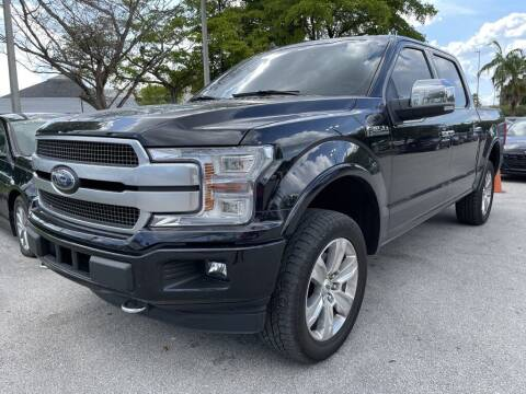 2019 Ford F-150 for sale at DORAL HYUNDAI in Doral FL