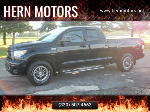 2011 Toyota Tundra for sale at Hern Motors - 111 Hubbard Youngstown Rd Lot in Hubbard OH