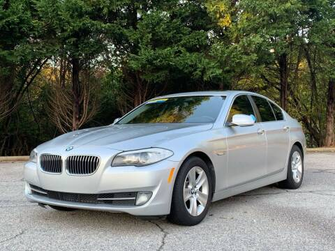 2013 BMW 5 Series for sale at GR Motor Company in Garner NC