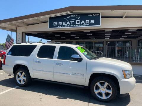 2014 Chevrolet Suburban for sale at Great Cars in Sacramento CA