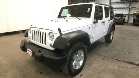2017 Jeep Wrangler Unlimited for sale at Waconia Auto Detail in Waconia MN