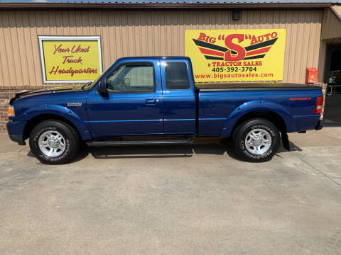 2011 Ford Ranger for sale at BIG 'S' AUTO & TRACTOR SALES in Blanchard OK