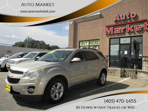 2012 Chevrolet Equinox for sale at Auto Market in Oklahoma City OK
