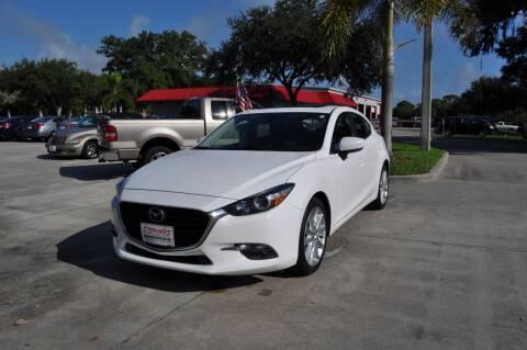2017 Mazda MAZDA3 for sale at STEPANEK'S AUTO SALES & SERVICE INC. in Vero Beach FL