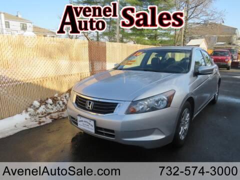 2010 Honda Accord for sale at Avenel Auto Sales in Avenel NJ
