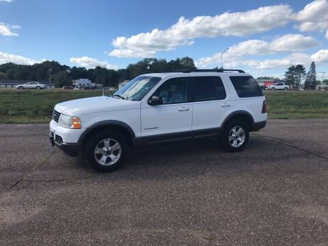 2002 Ford Explorer for sale at BLAESER AUTO LLC in Chippewa Falls WI