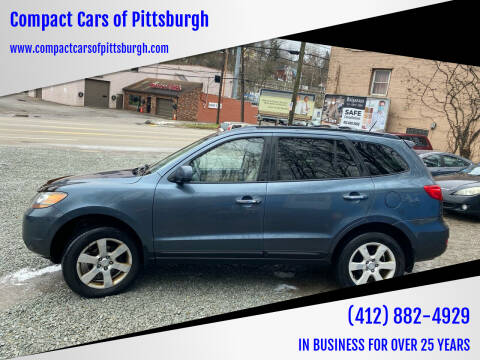2009 Hyundai Santa Fe for sale at Compact Cars of Pittsburgh in Pittsburgh PA