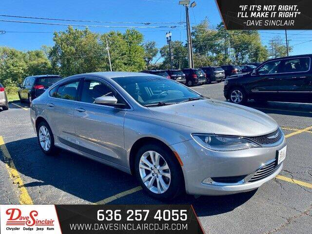 2015 Chrysler 200 for sale at Dave Sinclair Chrysler Dodge Jeep Ram in Pacific MO