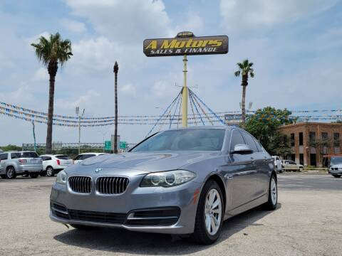 2014 BMW 5 Series for sale at A MOTORS SALES AND FINANCE - 6226 San Pedro Lot in San Antonio TX